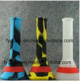 Dernières nouvelles huile de silicone Huile de concentré d'huile DAB Rigs Uncoverable Glass Water Pipe Replacement Assorted Colors