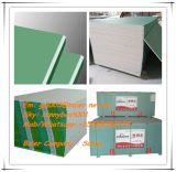 Tarjeta de yeso impermeable caliente de la mampostería seca del material de construcción