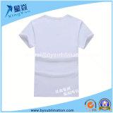 T-shirt modal de sublimation de V-Collet court de chemise
