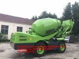 Self-Loading Mobiele Vrachtwagen van de Concrete Mixer voor Rusland