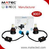 Luzes principais H4 H7 H11 9004 do diodo emissor de luz da ESPIGA do farol do diodo emissor de luz da fábrica de Guangzhou 9005 9006 9007