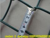 Rete fissa rivestita di collegamento Chain della rete metallica del PVC