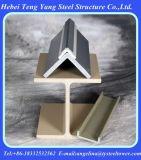 Perfil plástico reforçado fibra de vidro de Pultruded GRP/FRP