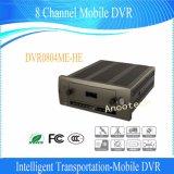 Canaleta DVR móvel de Dahua 8 com GPS WiFi/3G de seguimento (DVR0804ME-HE)