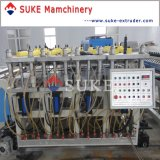 Belüftung-Kruste-Schaumgummi-Vorstand-Strangpresßling Zeile-Suke Maschine