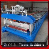 Dach-Blech-Rolle des Aluminium-PPGI Corrugared, die Maschine bildet