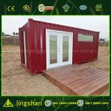 Casa viva prefabricada del contenedor