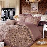 Algodón de lujo de la materia textil/alta calidad del lecho de Poltester para el hotel/casero determinados