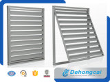 Fenêtre métallisée en aluminium revêtue de poudre Fenêtre ouvrante Fenêtre ouvrante Fenêtre fixe