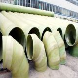 Pipes composées d'évacuation de l'eau de la fibre de verre GRP FRP