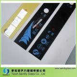 vidro temperado de 4mm 5mm para o gabinete da desinfeção