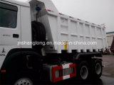 Carro de volquete de la mina de HOWO 336HP 16m3 con la carrocería de la roca