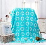 100% coperta generale bella del bambino del jacquard tessuta cotone con qualità perfetta
