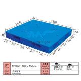 Pálete plástica Dw-1211c2 da face do dobro de uma superfície plana
