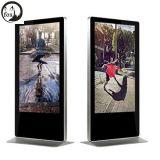 """Del """" morral vendedor caliente de WiFi LCD nuevo estilo 65 que hace publicidad del jugador (F650N)"""