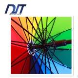 Ombrello che fa pubblicità all'ombrello diritto dell'osso dell'ombrello 16 del Palo dell'ombrello