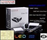 Chegada nova! ! ! C5 mini projetor HD 1080p