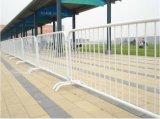 직류 전기를 통한 이동할 수 있는 도로 안전 철 바리케이드 담