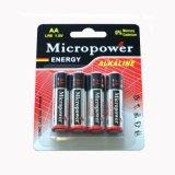 Батарея AA/Lr6 хорошего качества сухая алкалическая
