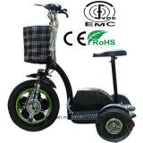 Triciclo elétrico de três rodas para o adulto