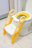 De plastic Dagelijkse Producten van de Kinderen van de Zetel van het Toilet van de Ladder van de Opleiding van de Baby