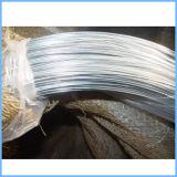 아연에 의하여 도금되는 낮은 탄소 강철 철 철사