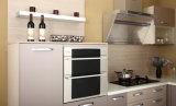 カスタム赤い光沢があるアクリルの台所家具(zv-023)
