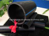 高品質黒いカラーHDPEの配水管PE100