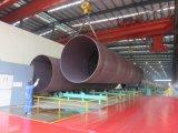 Tubo d'acciaio saldato longitudinale per l'acqua di mare