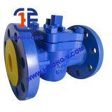 Valvola a rubinetto della flangia del acciaio al carbonio dell'olio di guarnizione di API/DIN PTFE/acciaio inossidabile