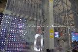 Intense luminosité P12 annonçant l'Afficheur LED de verre transparent