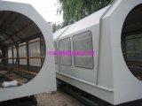 vacío 16mm-40mm del tubo doble del PVC que forma el tanque