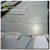 Tuile grise noire de basalte de pierre de lave de bluestone