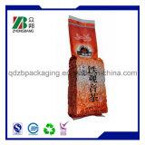 Resealable習慣によって印刷される食品等級の麻のティーバッグ