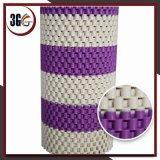 Couvre-tapis antidérapage de double couleur de PVC (DEMI DE CHAÎNE 3G-D)