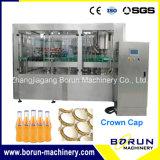 Machine de capsulage de remplissage de boissons douces pour bouteille de verre