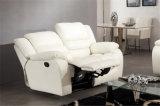 De Hoek Sofabed van het witte Mechanisme Leggtt en Platt van de Kleur