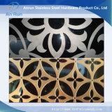 Hoja de corte láser de acero inoxidable para Decoratitve Plate