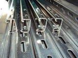 光起電太陽電池のパネルの取付金具