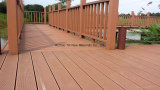 Decking di legno di WPC con indicatore luminoso