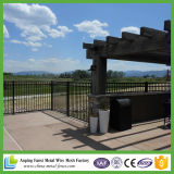 China Supplier Cheap High Quality Powder Coated Faux Wrought Iron Fence Panel