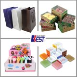 Beaux sacs en papier en gros, une série de sac fait sur commande de type, sacs de Shoppping, boîte de présentation, boîte-cadeau, cadre de empaquetage