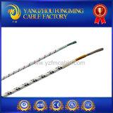 Fil de fibre de verre de température élevée d'utilisation de tube de chauffage de pipe de chaufferette