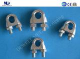 Clips de câble métallique de duplex d'acier inoxydable
