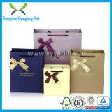 Kundenspezifischer Hochzeits-Papierbeutel-Silk Geschenk-Beutel mit Griff