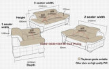 Софа комбинации, софа неподдельной кожи, живущий софа комнаты (M221)
