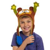 O Crochet brincalhão do filhote de cachorro de Tflipeez Witchy tricota manualmente o chapéu