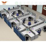 Fsc Forest Certified Top Sale Office 4 places Computer Call Center Workstation