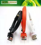 Flaches aufladenkabel, Typ USB2.0 ein Stecker, zum von C zu schreiben