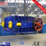 Triturador dobro hidráulico do rolo para o casco de pedra Coal Esmagamento